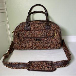 Vintage DVF Brown Tapestry Bag
